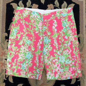 Lily Pulitzer Pink Flamingo Southern Charm Shorts